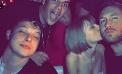 "Calvin Harris Congratulates ""Beautiful"" Taylor Swift on Grammys Win"