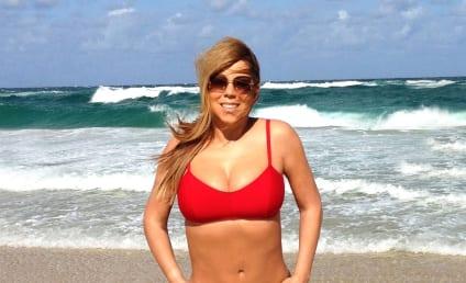 Mariah Carey Bikini Photo: Red Hot!