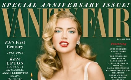 Kate Upton Vanity Fair Cover: Released! Retro-Sexy!