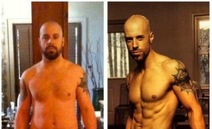 Chris Daughtry Weight Loss Photos: Shirtless, Ripped!