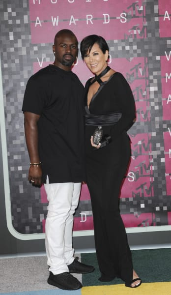 Kris and Corey at the VMAs