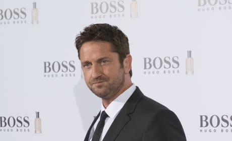 Gerard Butler: Boss Bottled Photocall