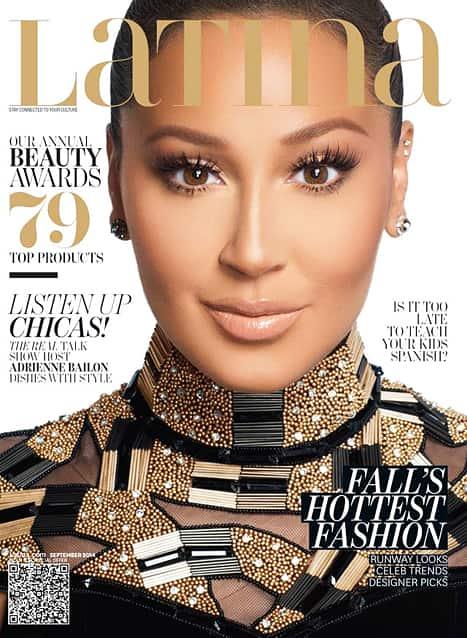Adrienne Bailon Latina Cover