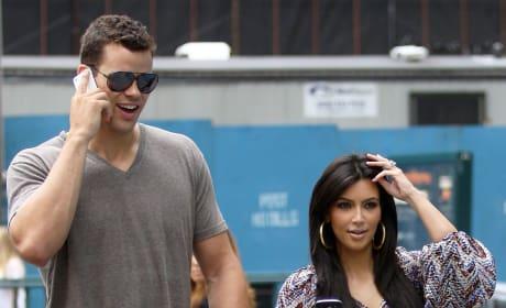 Kris Humphries and Kim Kardashian Together