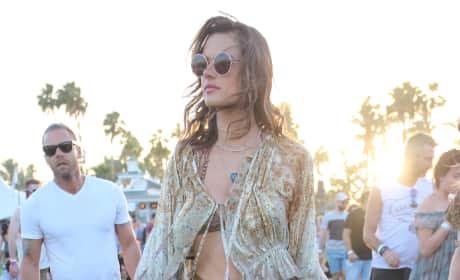 Alessandra Ambrosio Coachella 2016