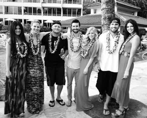 Brandon Jenner, Leah Felder Wedding