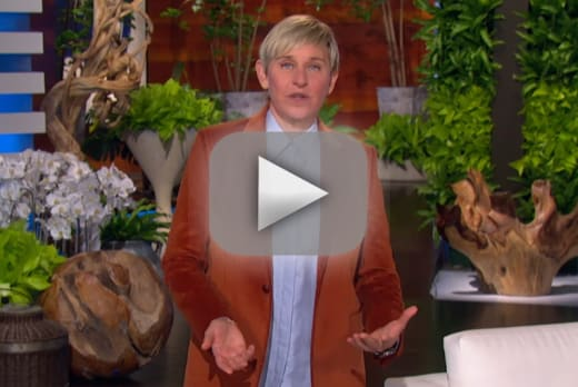 Ellen degeneres returns to television shares experience with cov