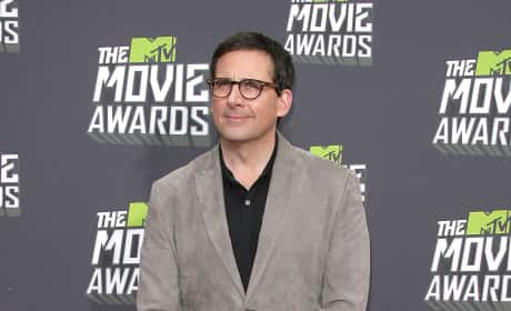 Steve Carell at MTV Movie Awards