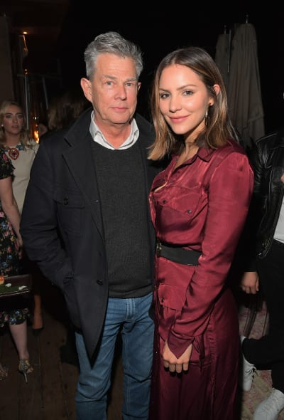 David Foster and Katharine McPhee Picture