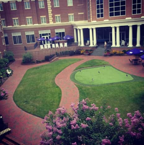 High Point putting green