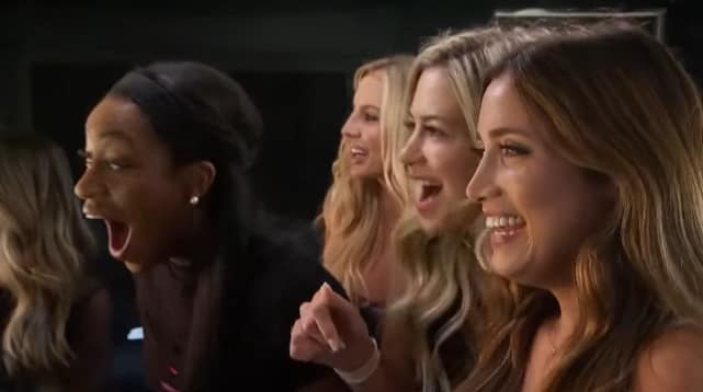 The bachelor contestants watch colton underwood