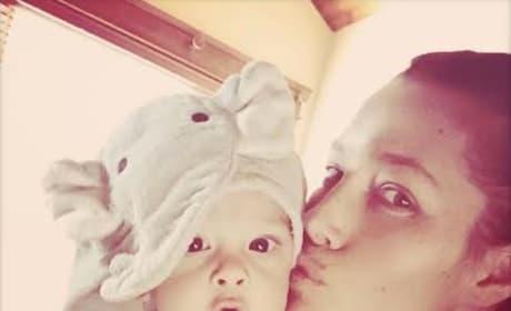 Jessica Biel and Baby