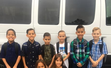 Natalie Suleman Sends Her Octuplets Back to School