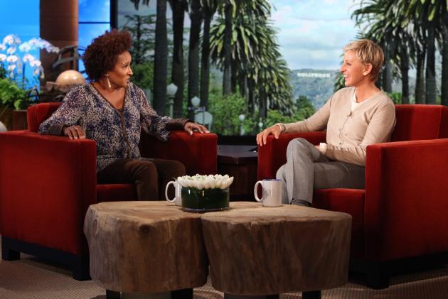Wanna Sykes on Ellen