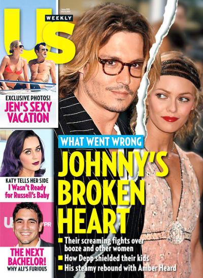 Johnny Depp Us Cover