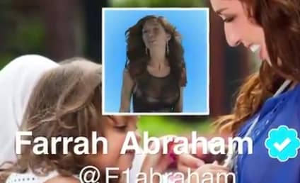 "Farrah Abraham ""Blowin'"" Music Video: So Bad It's ... No, It's Just Bad!"