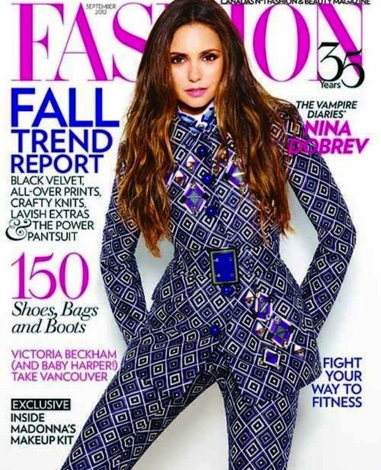 Nina Dobrev Fashion Cover