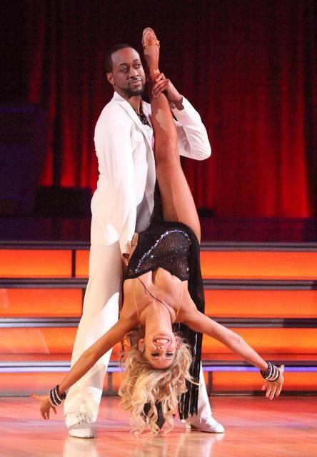 Jaleel White and Kym Johnson Picture