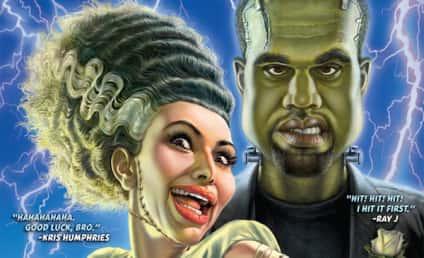 Mad Magazine Parodies Kimye Wedding, Unveils Bride of Frankenstein-Themed Poster