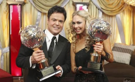 Donny Osmond and Kym Johnson are Winners