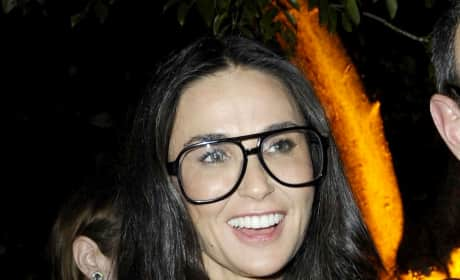 Demi Moore with Glasses