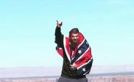 David Eason Flaunts Confederate Flag Again, Jenelle Evans Insists Black People Love It