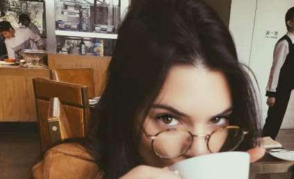 Kendall Jenner Throws It Back, Flashes Thong