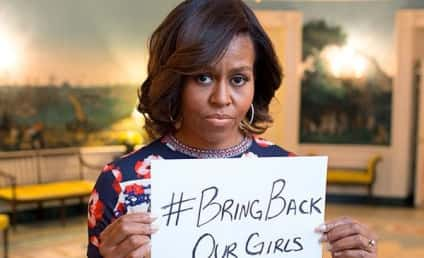 Michelle Obama Joins Bring Back Our Girls Campaign