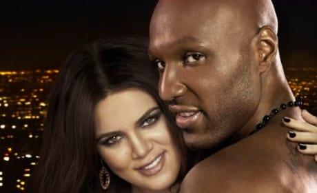 Lamar and Khloe Photo