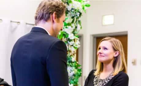 Kristen Bell Wedding Picture
