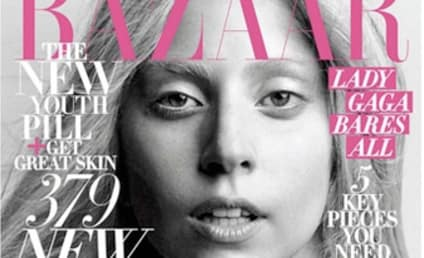 Lady Gaga: All-Natural in Harper's Bazaar!
