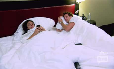 Bethenny Frankel in Bed