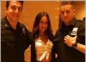 Megan Fox Wears School Girl Uniform, Poses With Cops, Makes Dreams Come True