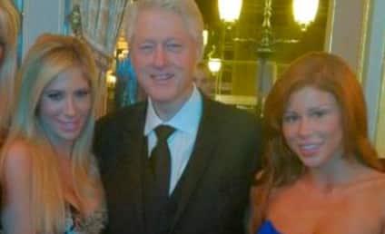 Bill Clinton, Porn Stars Mingle in Monaco