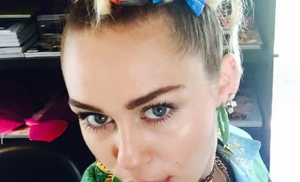 Miley Cyrus Hair Affair: Rainbow or Rain... NO?
