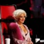Christina Aguilera in Her Chair
