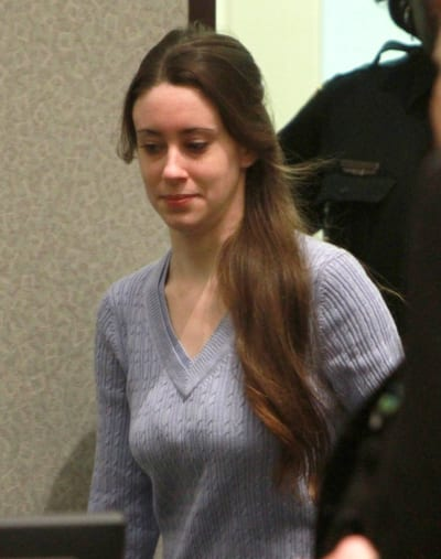 Casey Anthony in Courtroom