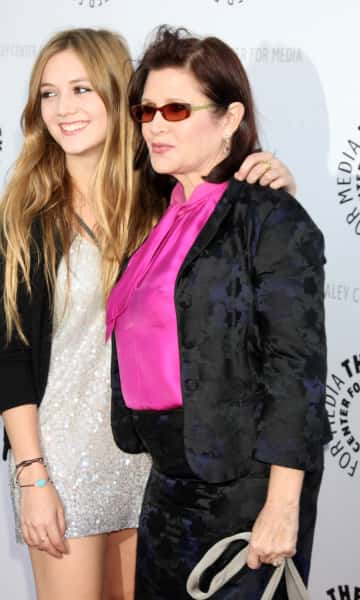 Slimmer Carrie Fisher