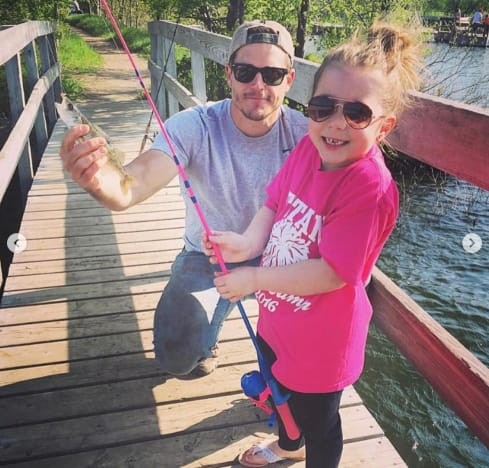Cole and Aubree Go Fishing