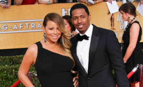 Nick Cannon and Mariah Carey Red Carpet Image