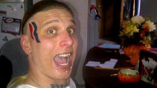 Eric Hartsburg, Romney Face Tattoo Guy