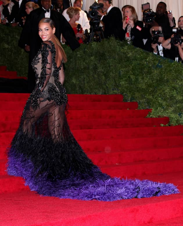 Beyonce Givenchy Gown
