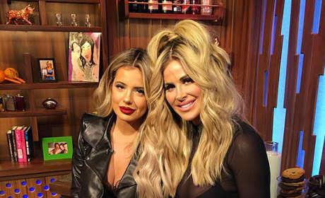 Kim Zolciak and Brielle