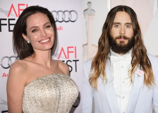 Angelina Jolie and Jared Leto: Dating?! - The Hollywood Gossip