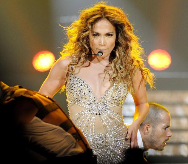 Jennifer Lopez in Toronto