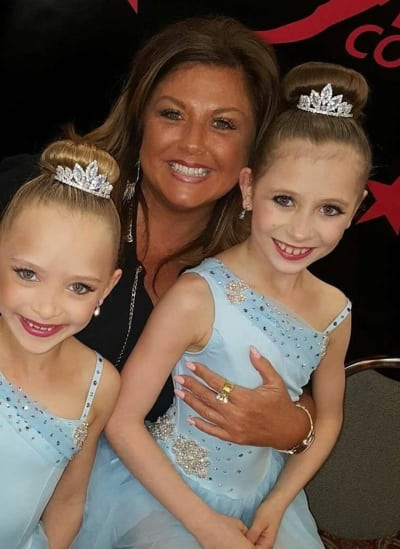 Abby Lee Miller with Students