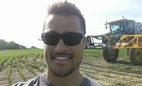 Chris Soules on the Farm