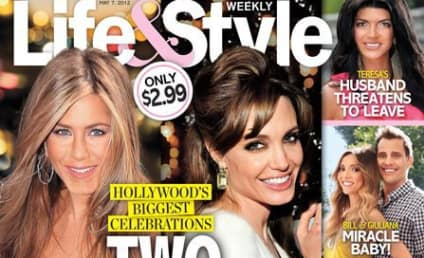 A Brangelina Bruhaha? Angelina Jolie Lap Dances for Olivier Martinez