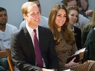 Kate Middleton With Husband
