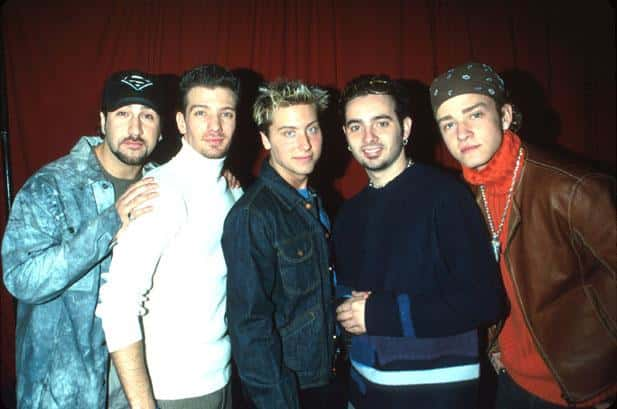 Justin Timberlake and N Sync